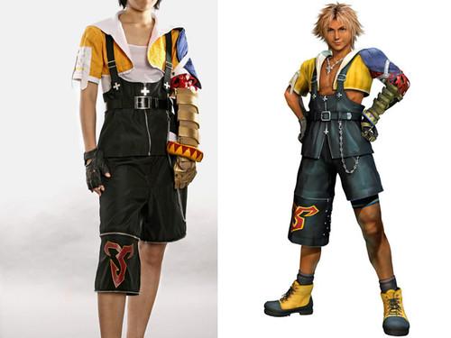 Final Fantasy X Cosplay, Tidus Fine Costume Set