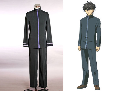 Full Metal Panic Cosplay, Sousuke Sagara School Uniform Set