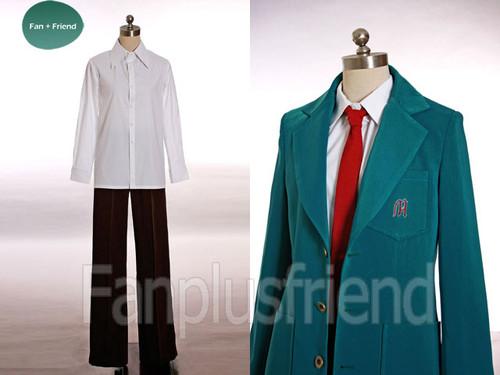 Haruhi Suzumiya Boy Uniform Kyon Cosplay Costume for Men Custom Made
