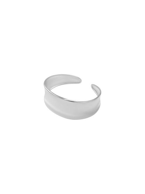 Silver Wide Cuff
