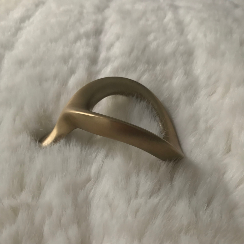VelvOr Brass Limited Edition JCobra Cock Ring - 55mm
