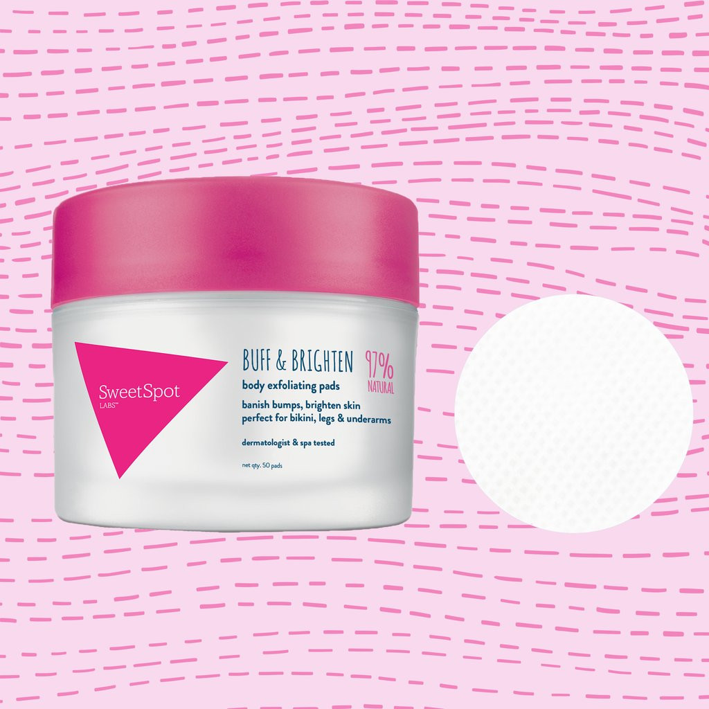 Sweet Spot Buff & Brighten Exfoliating Pads