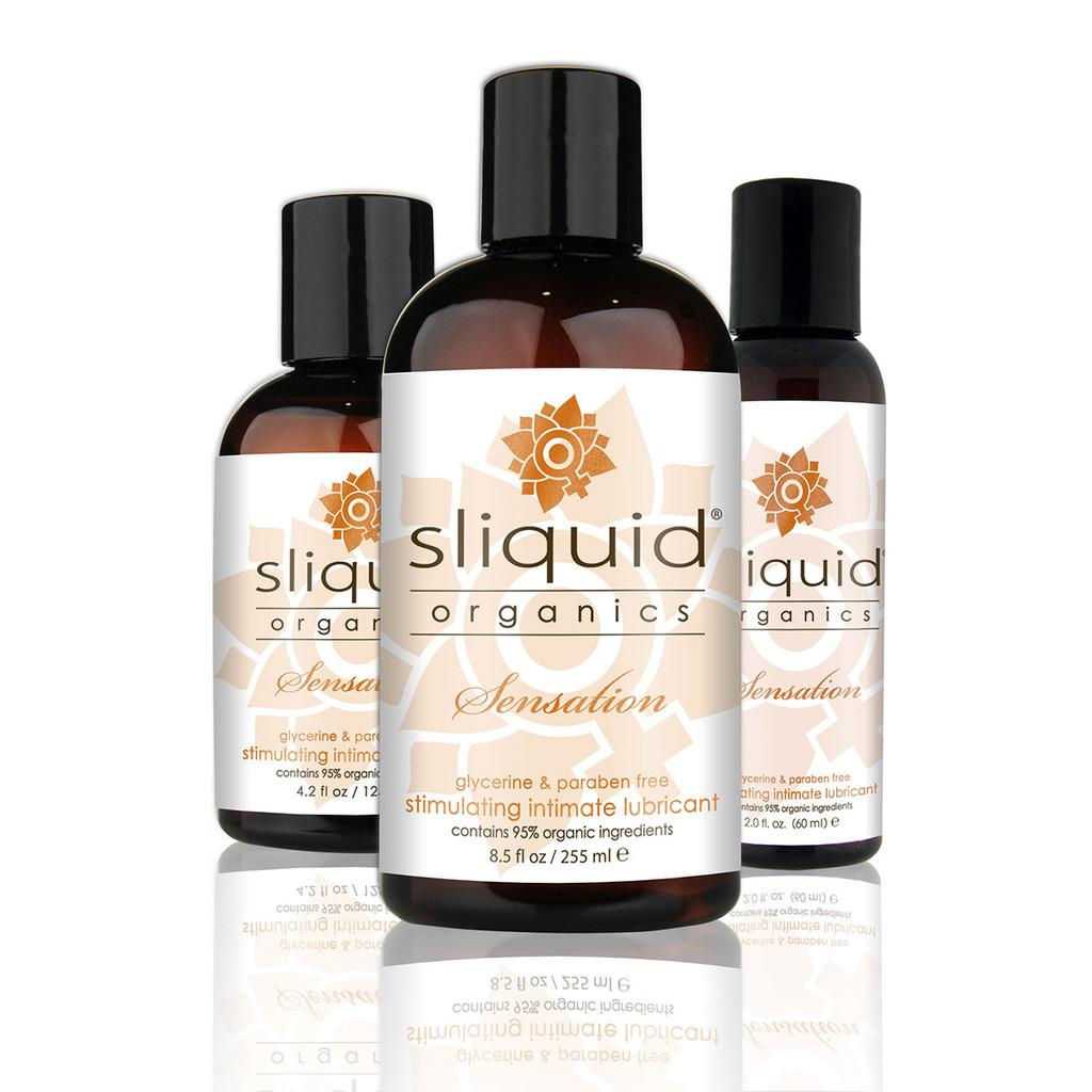 Sliquid Organics Lubricant Sensation - 2 oz