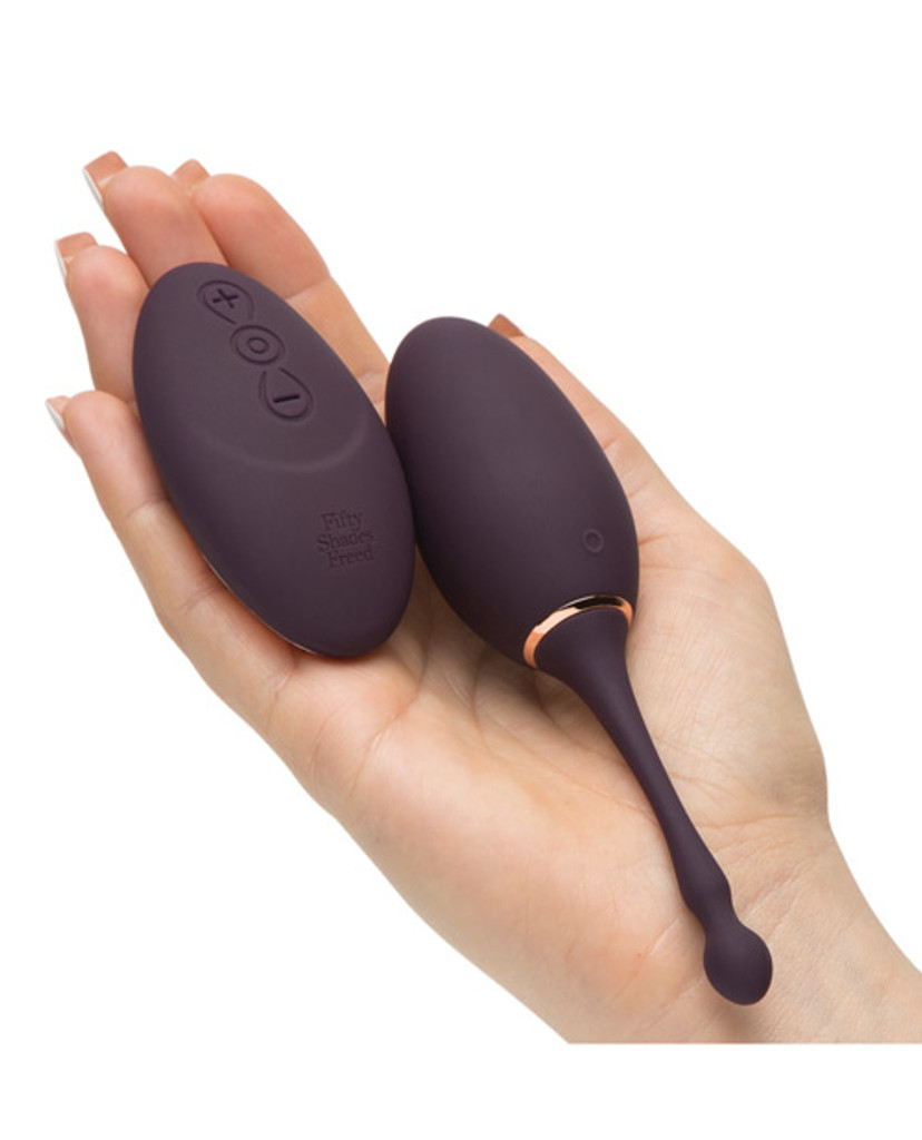 Fifty Shades Freed I've Got You Rechargeable Remote Control Egg
