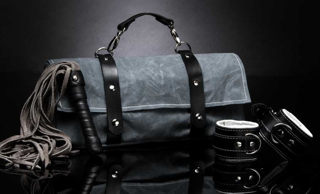 Tristan Toy Bag Waxed Canvas