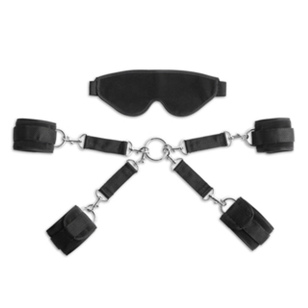 Liberator Bond Deluxe Cuff and Blindfold Kit