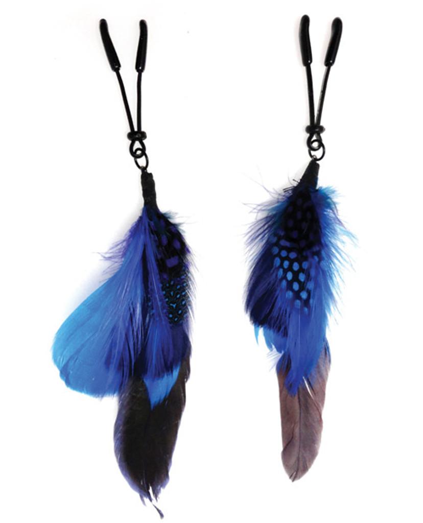 Bijoux de Nip Feather Nipple Clamps