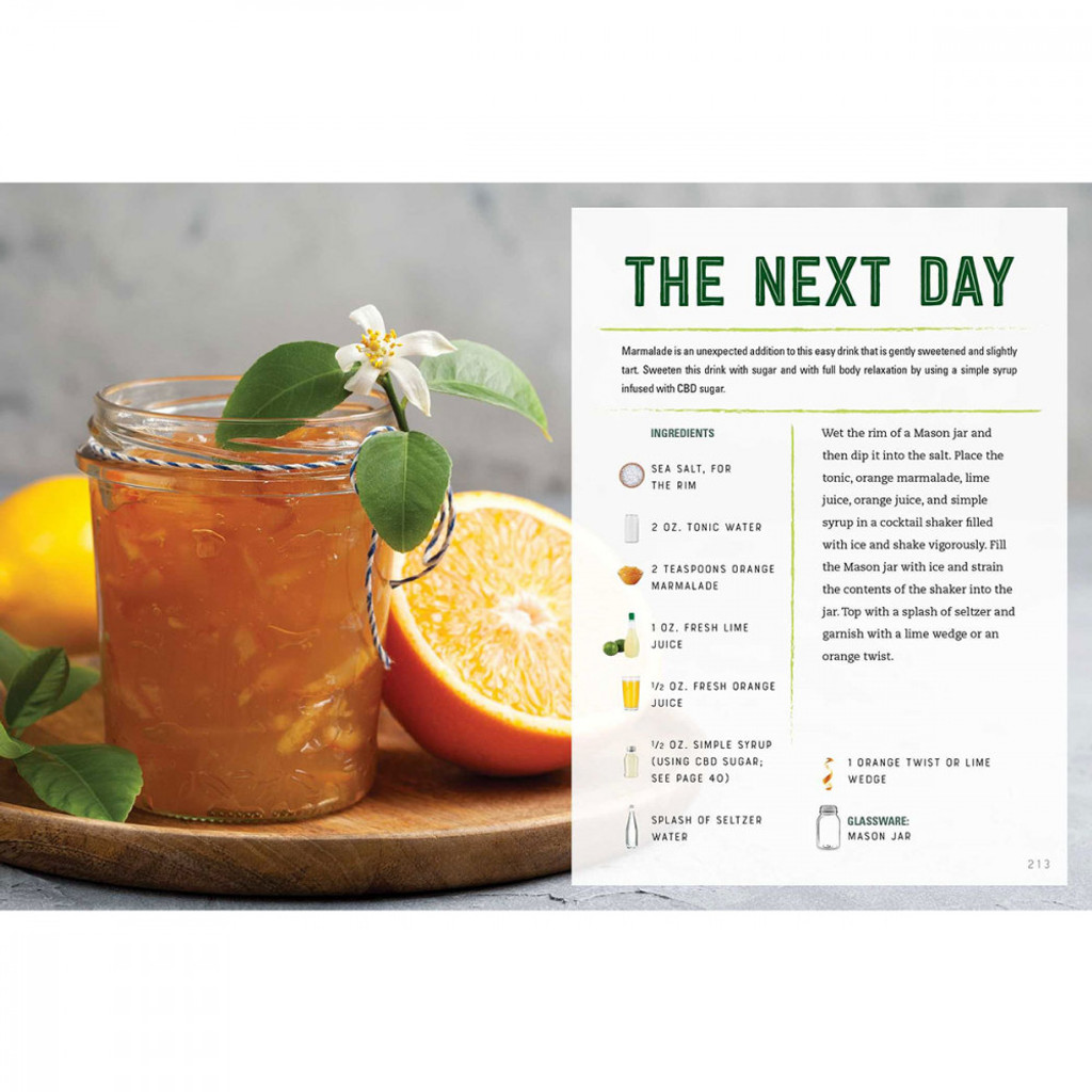 CBD Cocktails: Over 100 Recipes to Take the Edge Off
