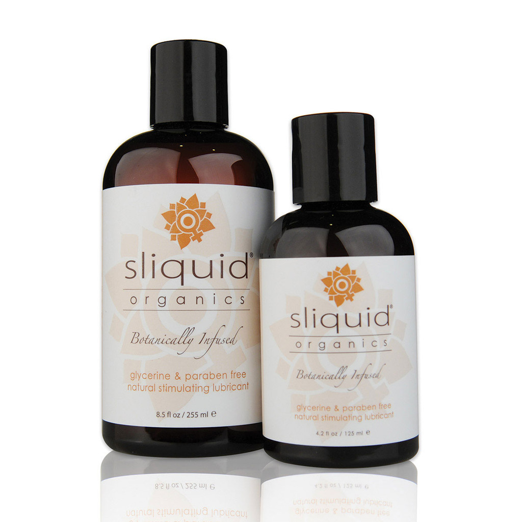 Sliquid Organics Lubricant Sensation - 8.5oz