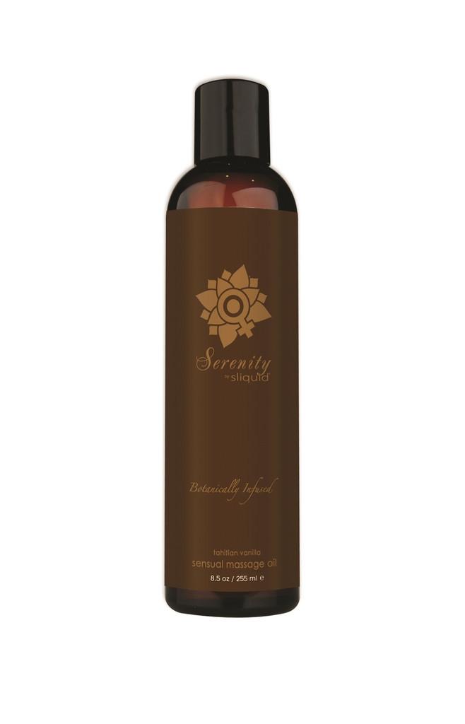 Sliquid Organics Sensual Massage Oil Serenity - 8.5oz