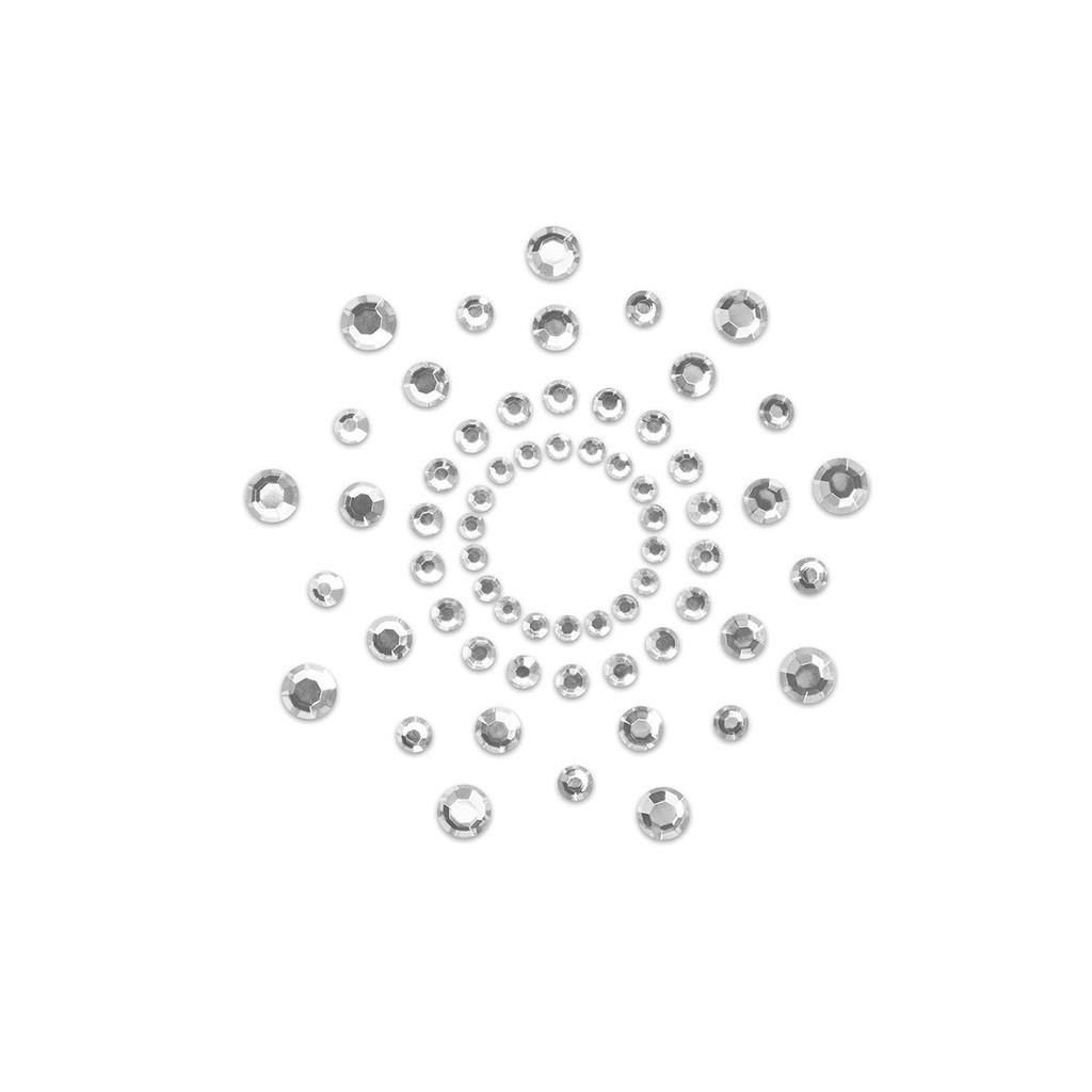 Bijoux Indiscrets Mimi Rhinestone Pasties  - Crystal Clear