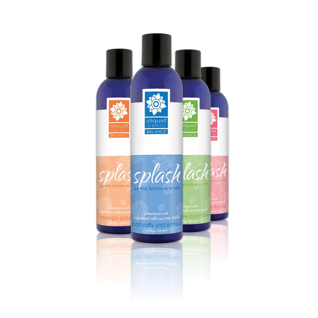 Sliquid Splash Feminine Wash - Grapefruit Thyme 8.5 oz