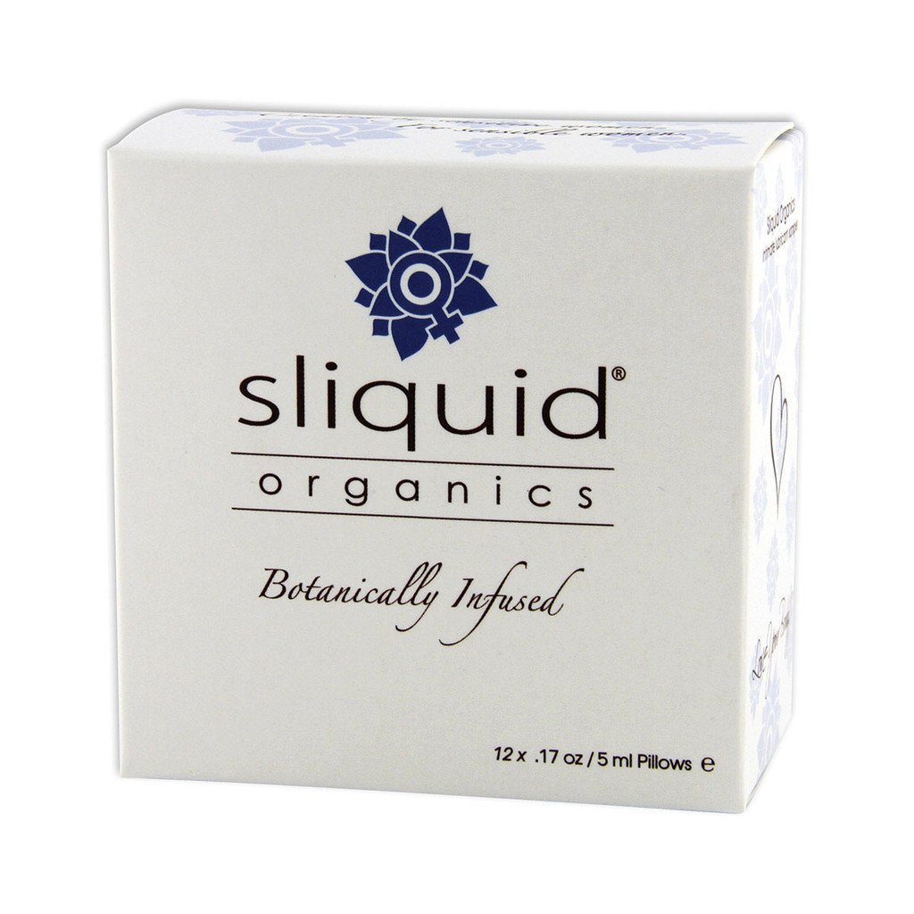Sliquid Organics Lubricant Sample Cube