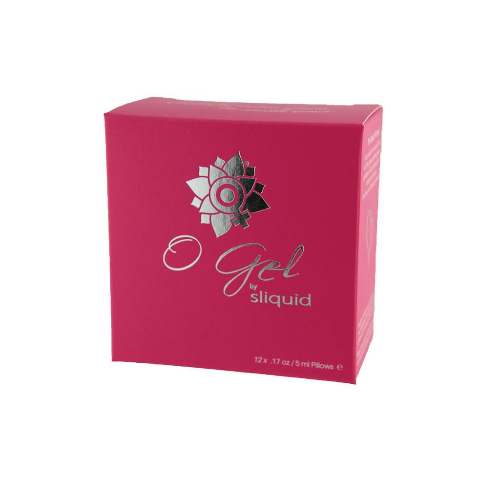 Sliquid Organics Stimulating O Gel Sample Cube