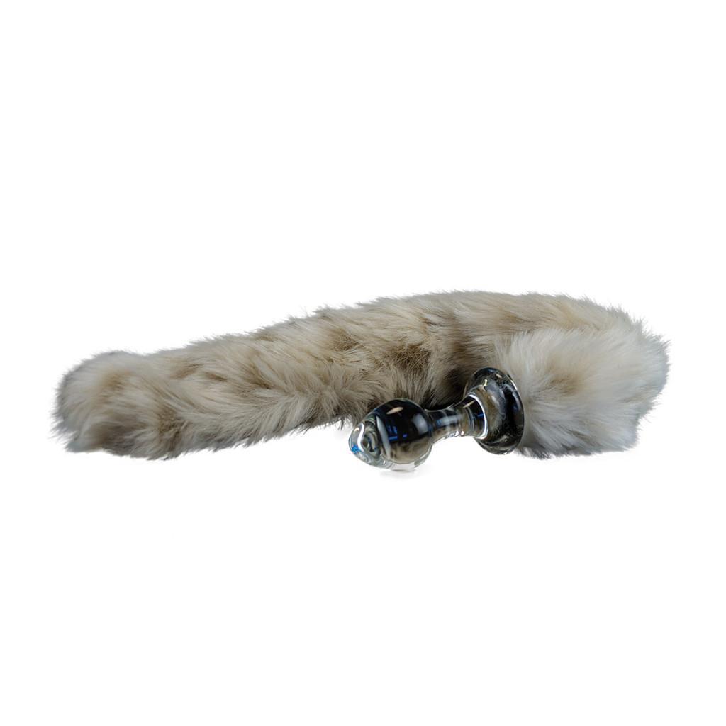 Snow Leopard Faux Tail