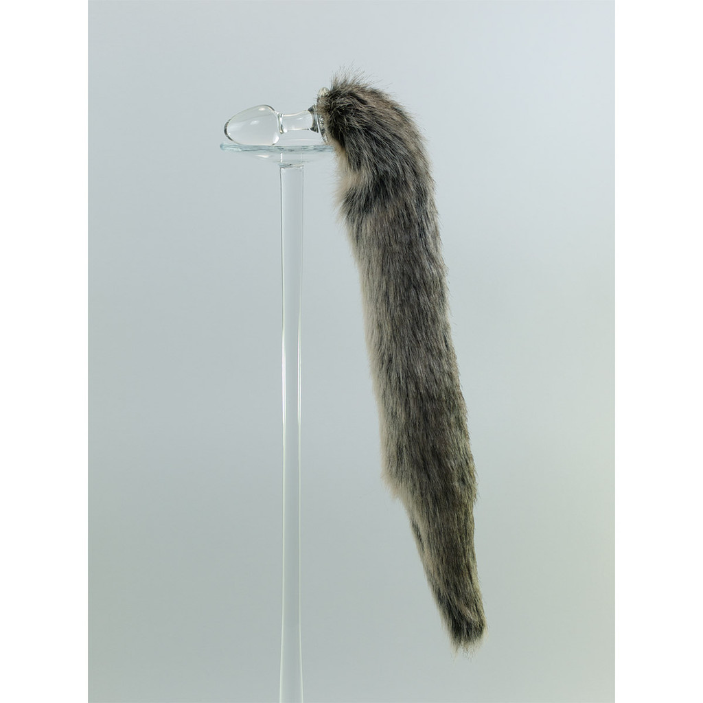 Grey Wolf Faux Tail