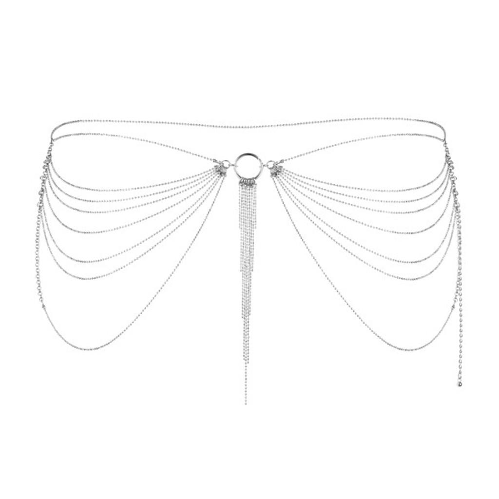 Magnifique Collection Silver Waist Chain