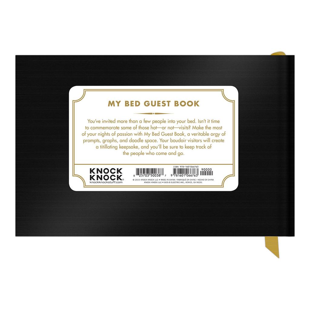 My Bed Guestbook
