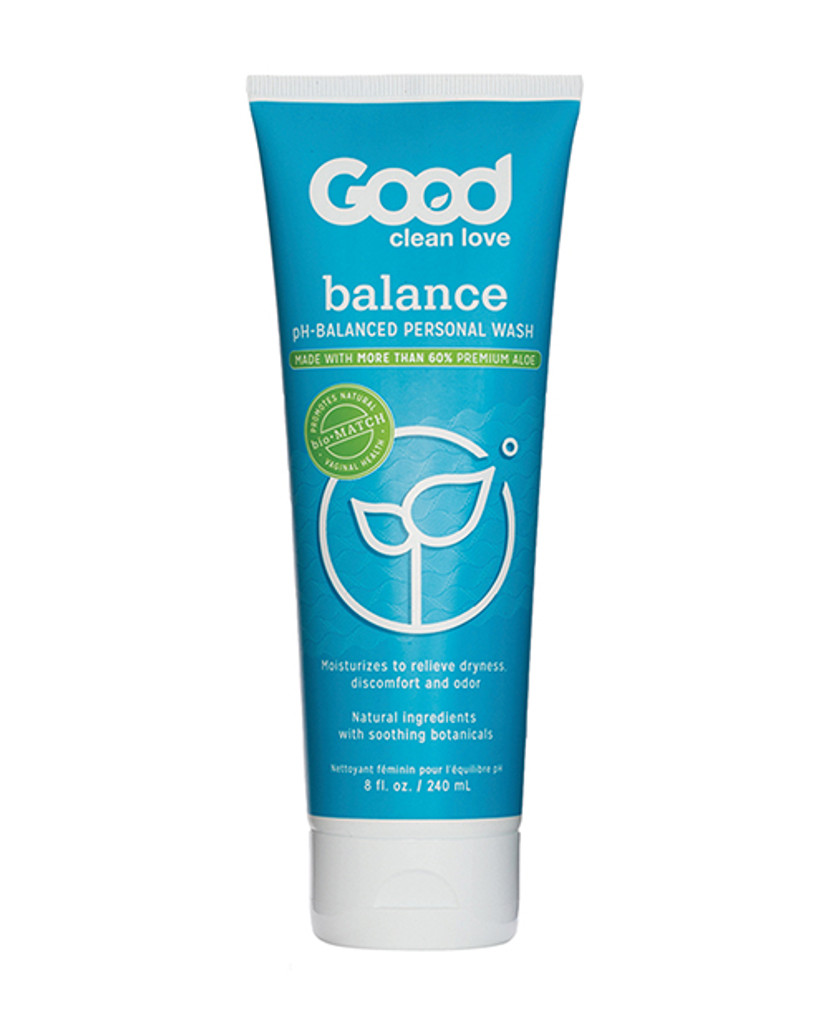 Good Clean Love Balance Moisturizing Wash 8.oz