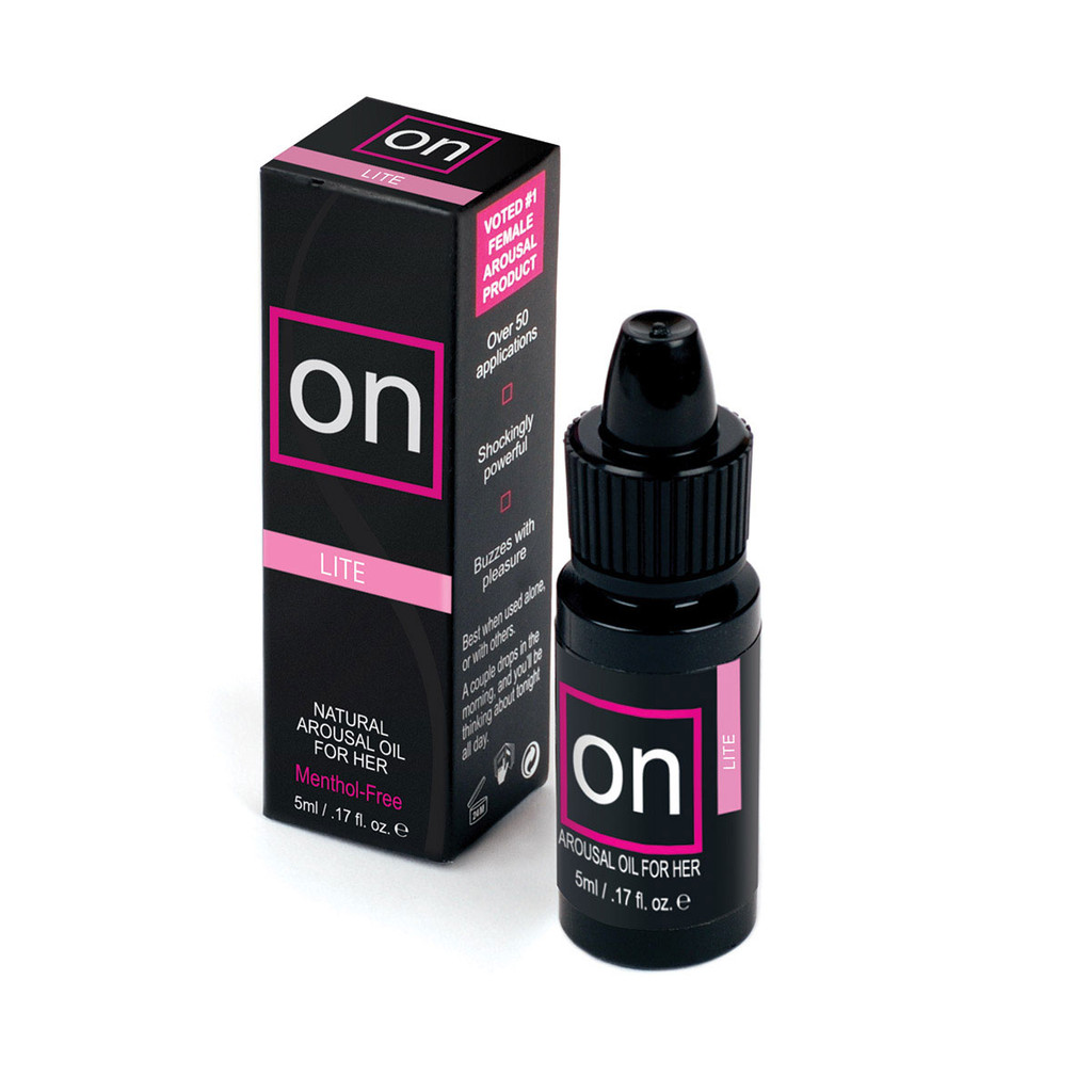 On Arousal Lite is perfect for sensitive women, or for times when women simply want something less intense than the original On Arousal Oil.