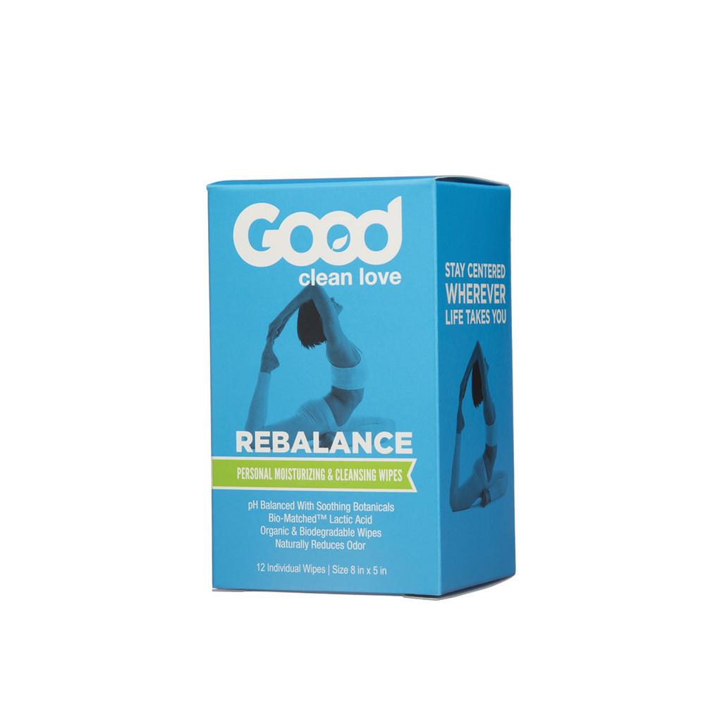 Good Clean Love Rebalance Cleansing Wipes 12 ct.
