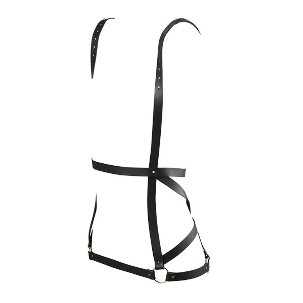 Maze Vegan Leather Arrow Dress Harness