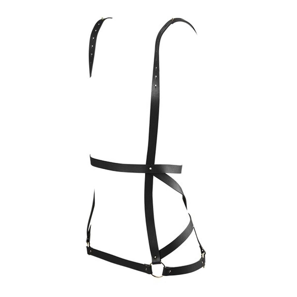 Maze Vegan Leather Arrow Dress Harness