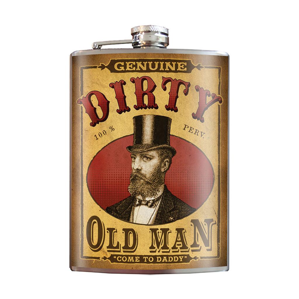 Trixie & Milo Flask - Dirty Old Man
