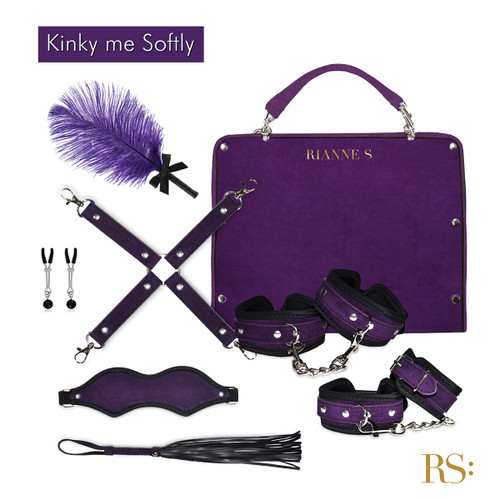 Rianne S Kinky Me Softly Purple Bondage Kit