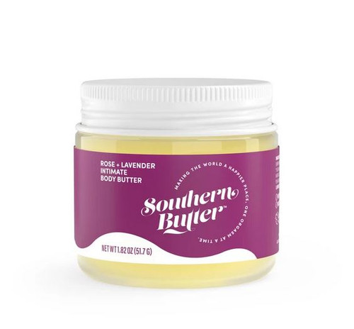 Southern Butter Lubricant & Sensual Body Butter - Rose & Lavender