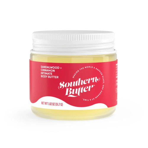 Southern Butter Lubricant & Sensual Body Butter - Sandlewood & Cinnamon