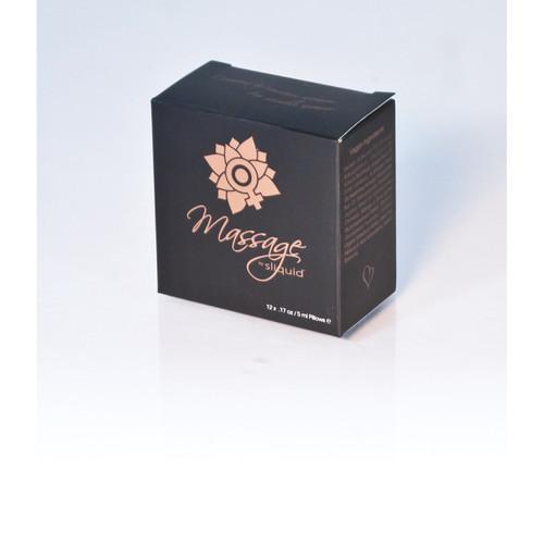 Sliquid Massage Oil Cube 12pk Samples
