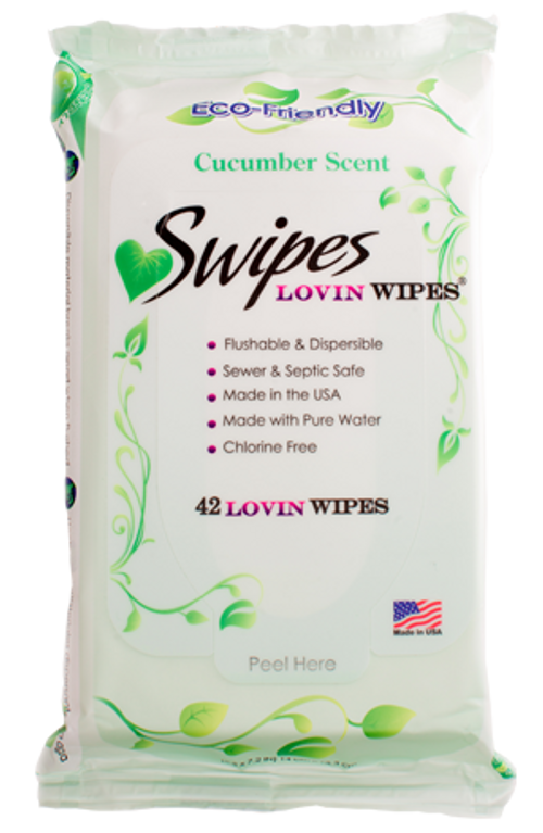 Swipes Lovin Natural Wipes - Cucumber