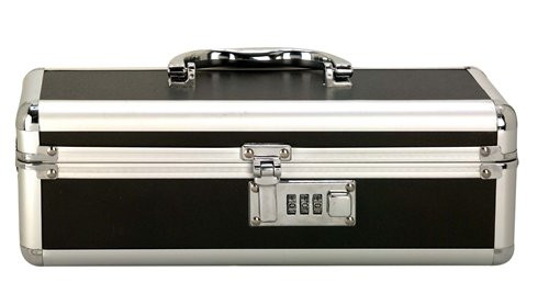 BMS Enterprises Lockable Vibrator Case - Black