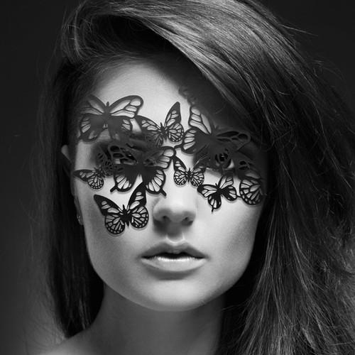 Bijoux Indiscrets Decal Eye Mask - Sybille