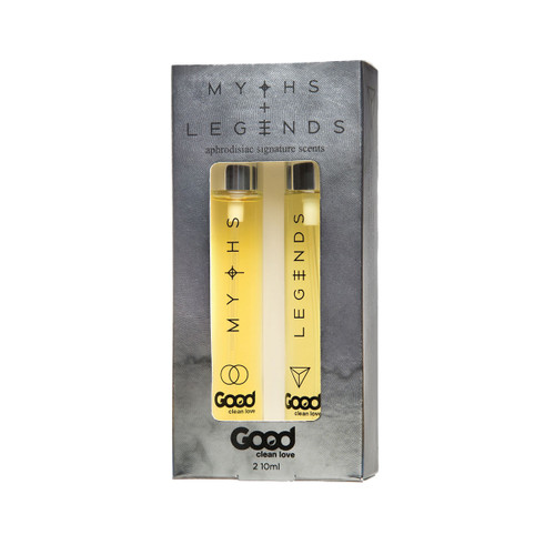 Good Clean Love Myths/Legends Aphrodisiac Scent Set
