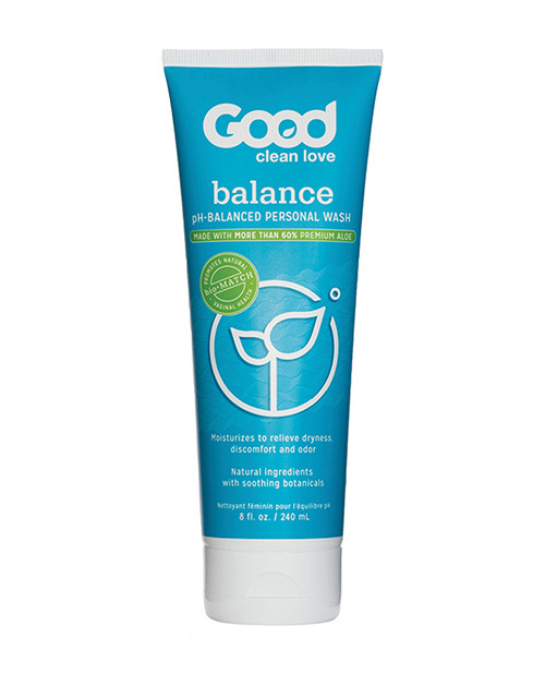 Good Clean Love Balance Moisturizing Wash 8.oz