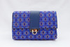Blue Diamond Cross Body Chain Bag