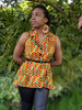 LIMITED EDITION- Kenza Kente Fishtail Top