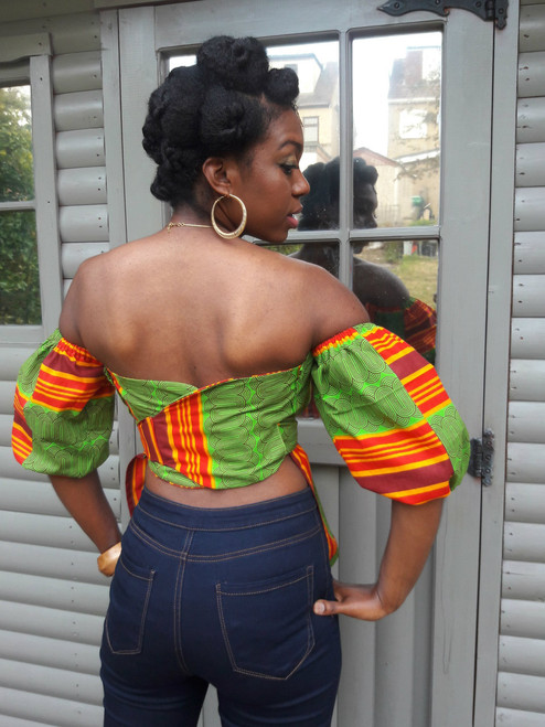 Moria Backless Top