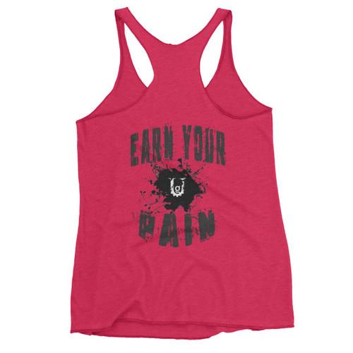 Earn Your Pain Women's  Racerback Tank