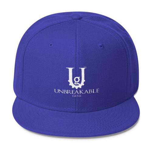 UG Logo White Snapback Hat