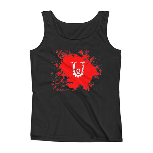 Earn Your Pain Ladies'  Red Ink Tank