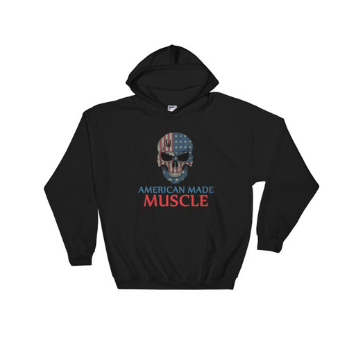 American Made Muscle Hooded Sweatshirt