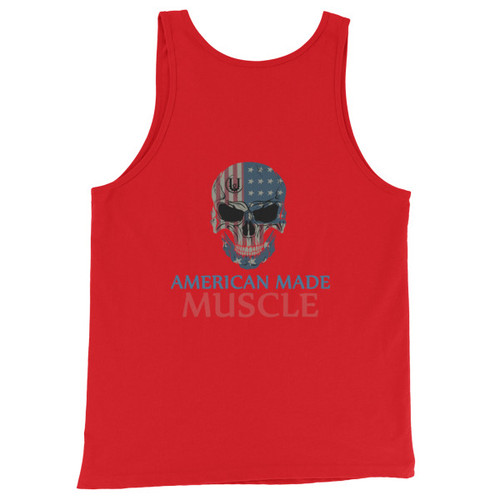American made Muscle Men's/Unisex  Tank Top