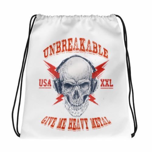 Heavy Metal Drawstring bag