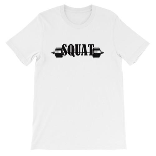 SQUAT Short-Sleeve Men's/Unisex T-Shirt