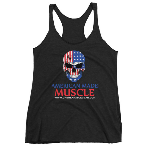 American Made Muscle Olympia Takeover Women's Racerback Tank