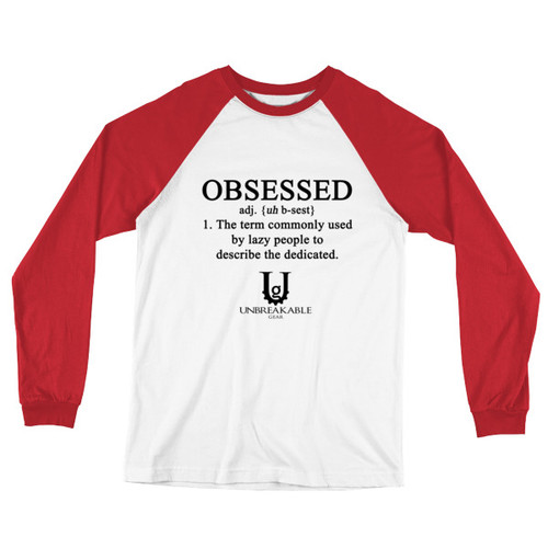 Obsessed Long Sleeve Baseball T-Shirt