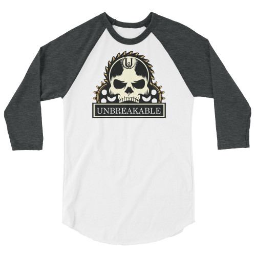 Unbreakable 3/4 Sleeve Unisex Raglan Shirt
